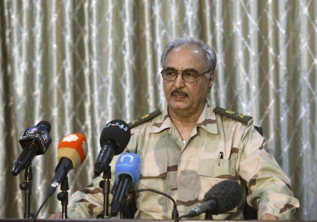 Λιβύη : Ο Χαφτάρ απορρίπτει το αίτημα Ερντογάν – Πούτιν για κατάπαυση του πυρός