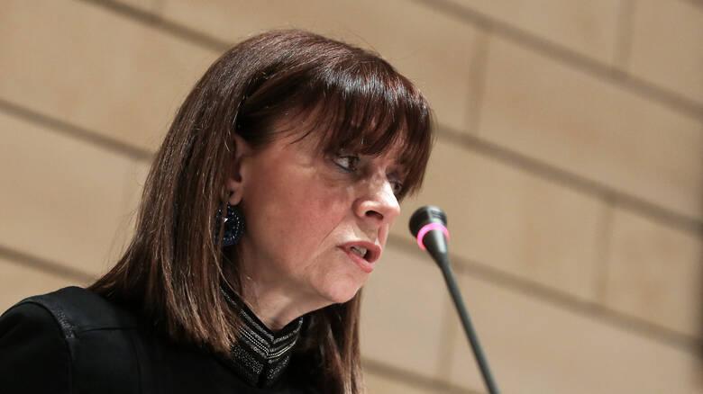 Κατερίνα Σακελλαροπούλου: «Έχω πλήρη συνείδηση του βάρους που επωμίζομαι και της ευθύνης που αναλαμβάνω»