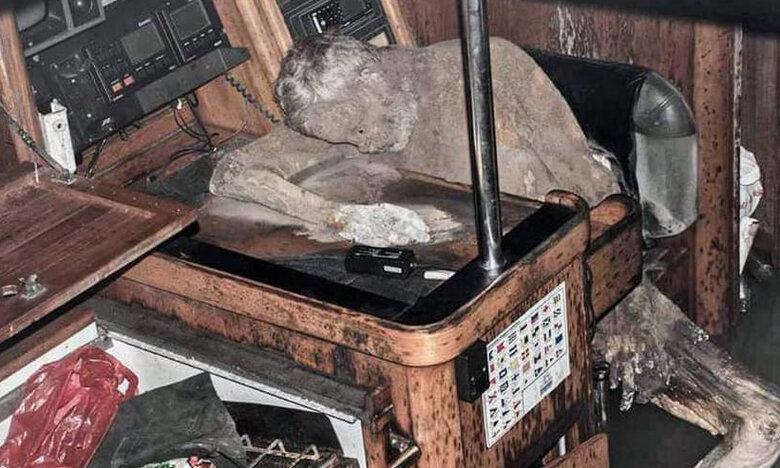 Τρόμος: Πλοίο – φάντασμα περιπλανιόταν με το νεκρό καπετάνιο του στο πηδάλιο για χρόνια