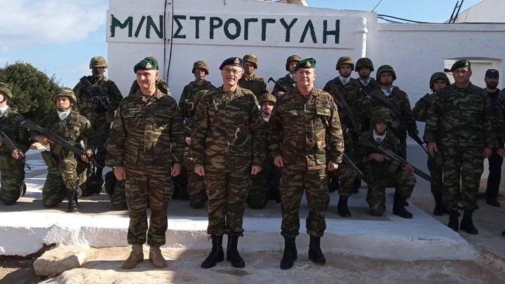 Τουρκικό «αμόκ» με τον Στρατηγό Καμπά στο Καστελλόριζο – ΦΩΤΟ