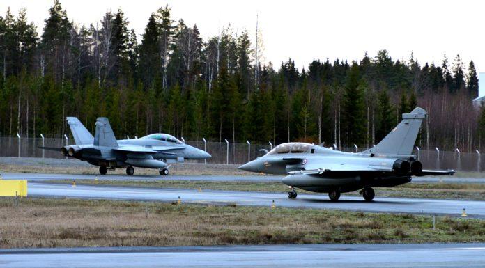 Εικόνες: Η φινλανδική αεροπορία αξιολογεί το Rafale για ΝΜΑ (εντάξει, ομολογούμε, ζηλεύουμε)
