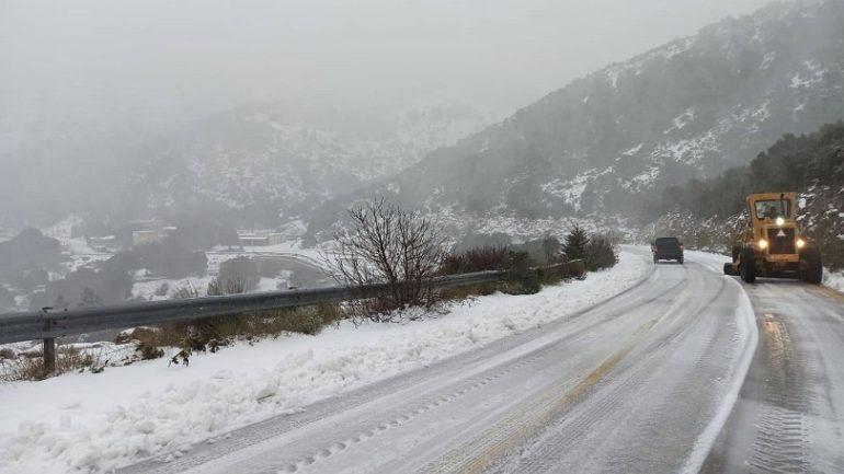 Θεαματικά τα ύψη των χιονοπτώσεων και βροχοπτώσεων στην Κρήτη