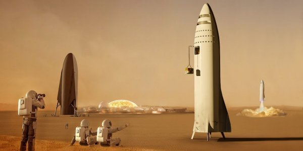 Elon Musk: Θα μεταφέρω ένα εκατομμύριο ανθρώπους στον Άρη έως το 2050