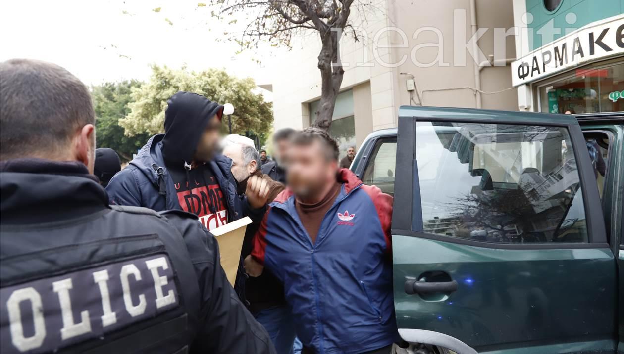 Έγκλημα στις Μοίρες: Eικόνες – σοκ από το δολοφονικό αμόκ του φερόμενου δράστη