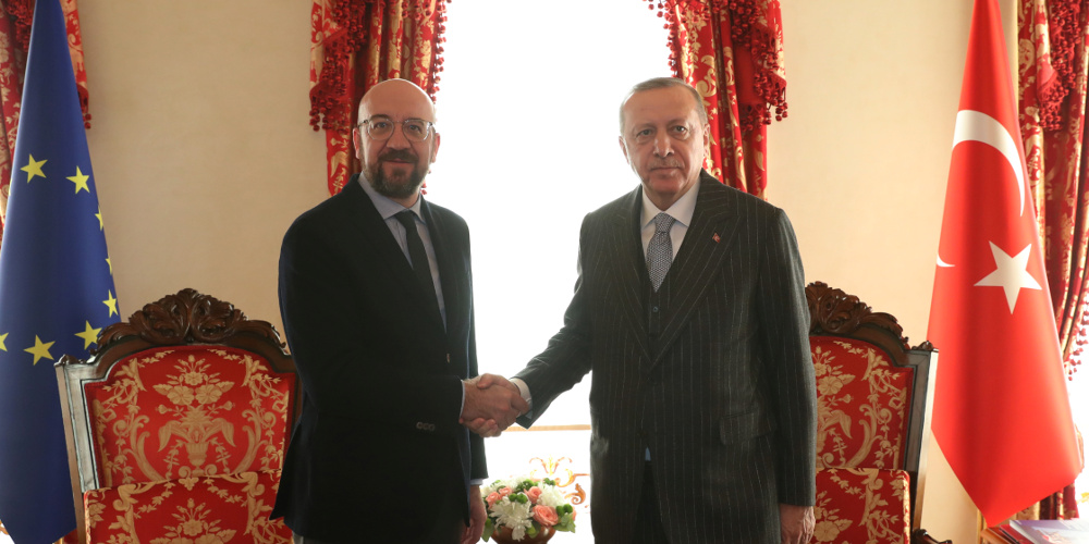 Σαρλ Μισέλ σε Ερντογάν: Παράνομες οι τουρκικές γεωτρήσεις- Ανησυχία για το μνημόνιο με την Λιβύη