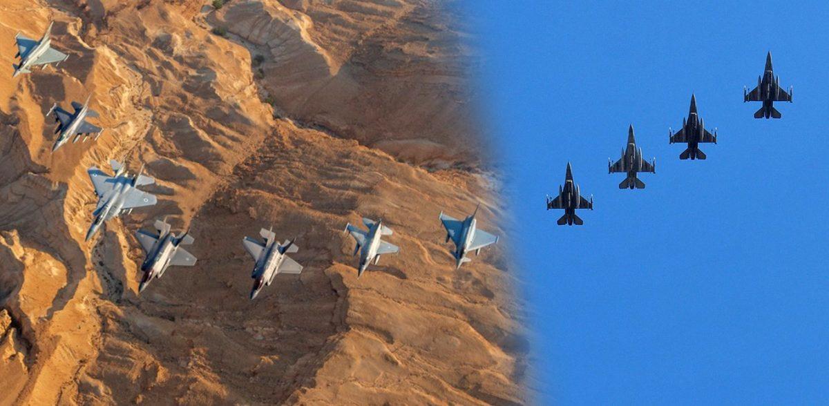 F16 Block 52 plus Vs Rafale νότια της Κρήτης – Και το «Σαρλ ντε Γκολ» στη Μεσόγειο