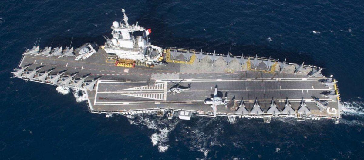 ΕΚΤΑΚΤΟ: Η Γαλλία στέλνει το πυρηνικό αεροπλανοφόρο Charles de Gaulle απέναντι στις τουρκικές φρεγάτες στην Α.Μεσόγειο