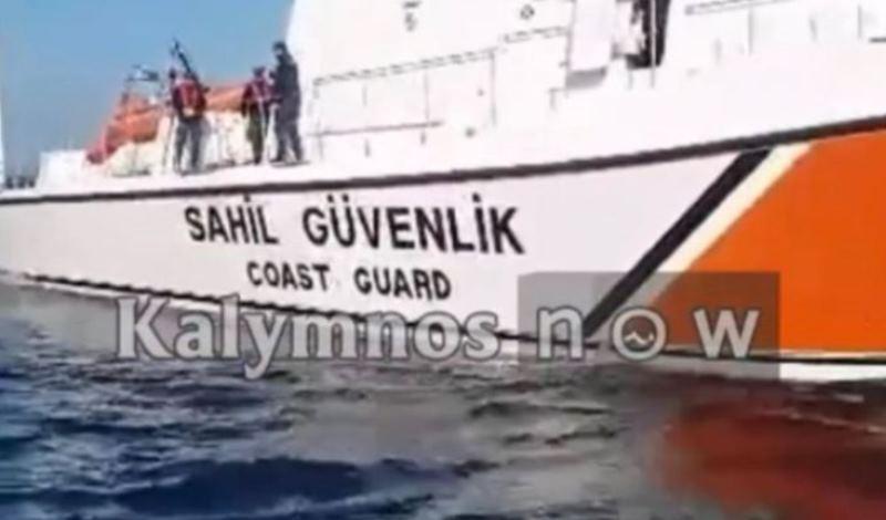 Τούρκοι λιμενικοί κλέβουν παραγάδι από Καλύμνιους ψαράδες