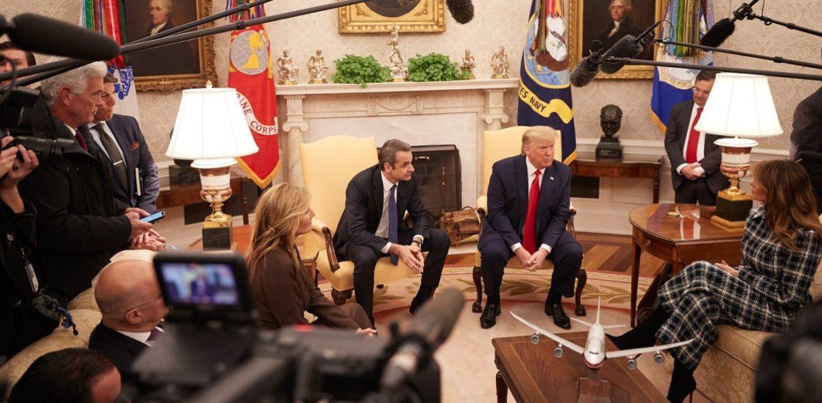 Μητσοτάκης: Θέλουμε την στήριξη των ΗΠΑ για την προκλητική συμφωνία Τουρκίας-Λιβύης
