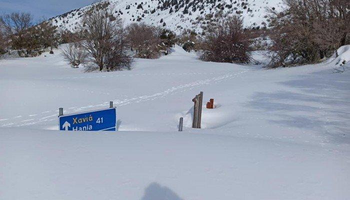 Ομαλός: «Χάθηκε» η είσοδος στο φαράγγι της Σαμαριάς (φωτο)