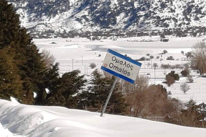 Θυμίζει… Σιβηρία ο Ομαλός – Χιόνισε και την Πέμπτη   Photos
