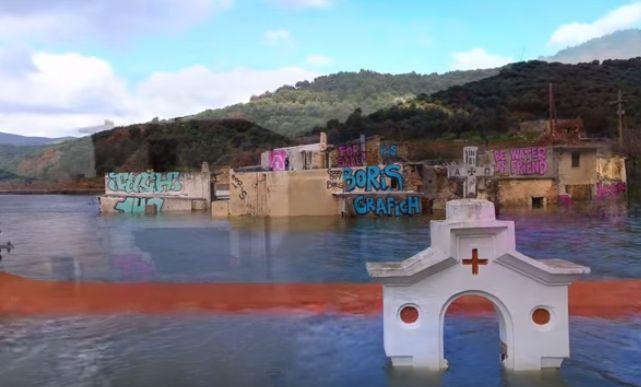 """Η """"Ατλαντίδα"""" της Κρήτης ενέπνευσε τους καλλιτέχνες – Δείτε το απίστευτο αποτέλεσμα (video)"""