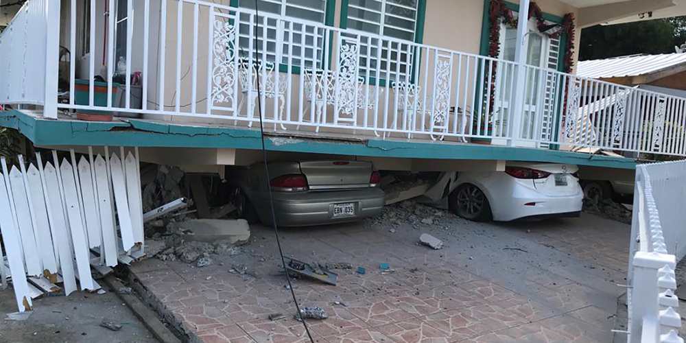 Τουλάχιστον ένας νεκρός από τον σεισμό των 6,4 Ρίχτερ στο Πουέρτο Ρίκο
