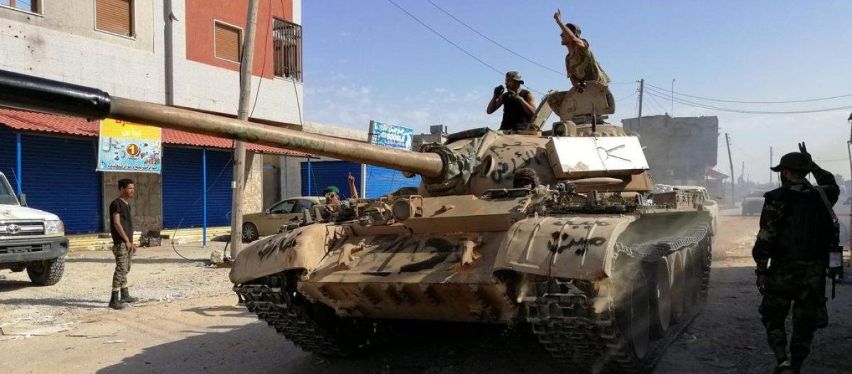 Ο Χαφτάρ κατέλαβε την Σύρτη στην Λιβύη – Σφίγγει ο κλοιός γύρω από τους Τούρκους
