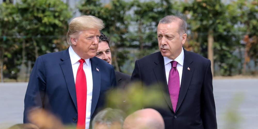 Έβαλε «χέρι» ο Τραμπ στον Ερντογάν: Καμία ξένη ανάμιξη στη Λιβύη