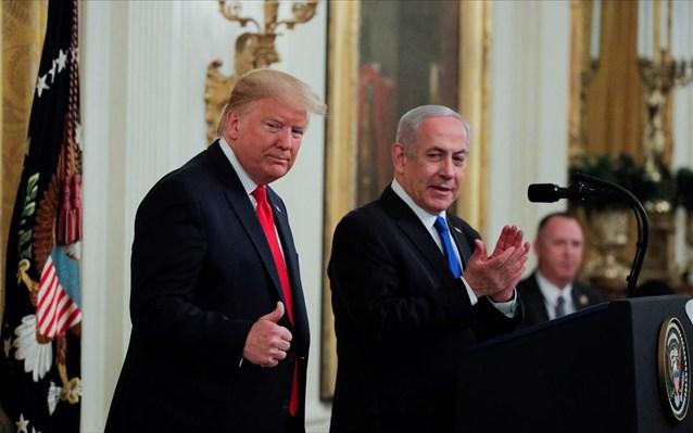 ΗΠΑ: Ο Ντόναλντ Τραμπ παρουσίασε το ειρηνευτικό του σχέδιο για τη Μέση Ανατολή
