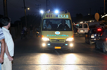 Τροχαίο στην Κρήτη: Μηχανή συγκρούστηκε με λεωφορείο