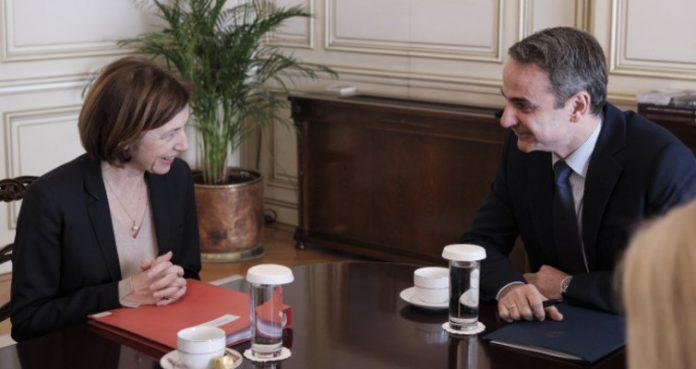 Συνάντηση Μητσοτάκη με τη Γαλλίδα υπουργό Αμυνας για αμυντική συνεργασία Ελλάδας-Γαλλίας
