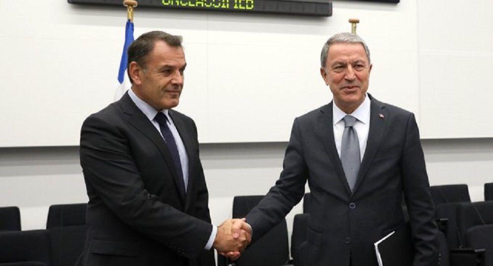 Παναγιωτόπουλος σε Ακάρ: Οι προκλητικές ενέργειες δεν βοηθούν – Τι συζήτησαν οι δύο ΥΠΕΘΑ