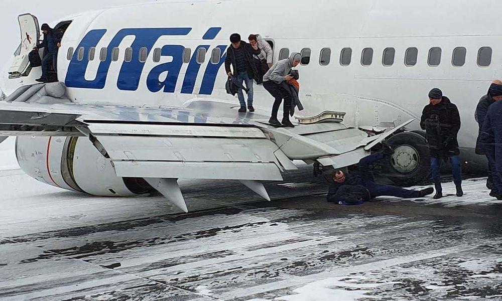 Ρωσία: Αεροπορικό θρίλερ σε παγωμένο αεροδιάδρομο – Η ξέφρενη προσγείωση κατέληξε στα… χιόνια (Photos+Videos)