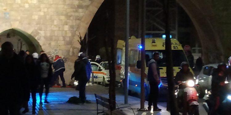 Kρίσιμη η κατάσταση της 14χρονης που έπεσε από τα τείχη στο Ηράκλειο