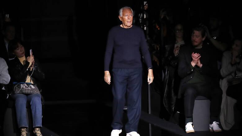 Τζόρτζιο Αρμάνι: «Οι σχεδιαστές μόδας βιάζουν τις γυναίκες» – Η δήλωση που προκάλεσε σάλο