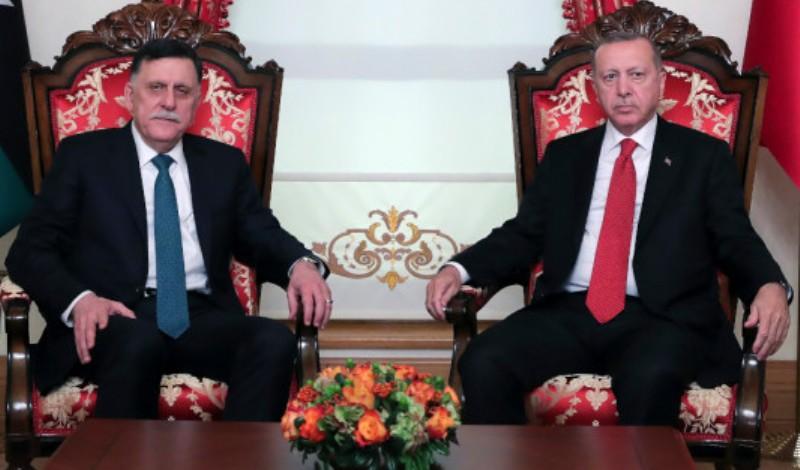 Λιβύη: Εκτάκτως στην Κωνσταντινούπολη ο Σάρατζ-Συναντήθηκε με Ερντογάν