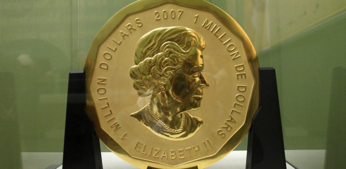 Πώς τρία παιδιά έκλεψαν το μεγαλύτερο χρυσό νόμισμα του κόσμου βάρους 100 κιλών