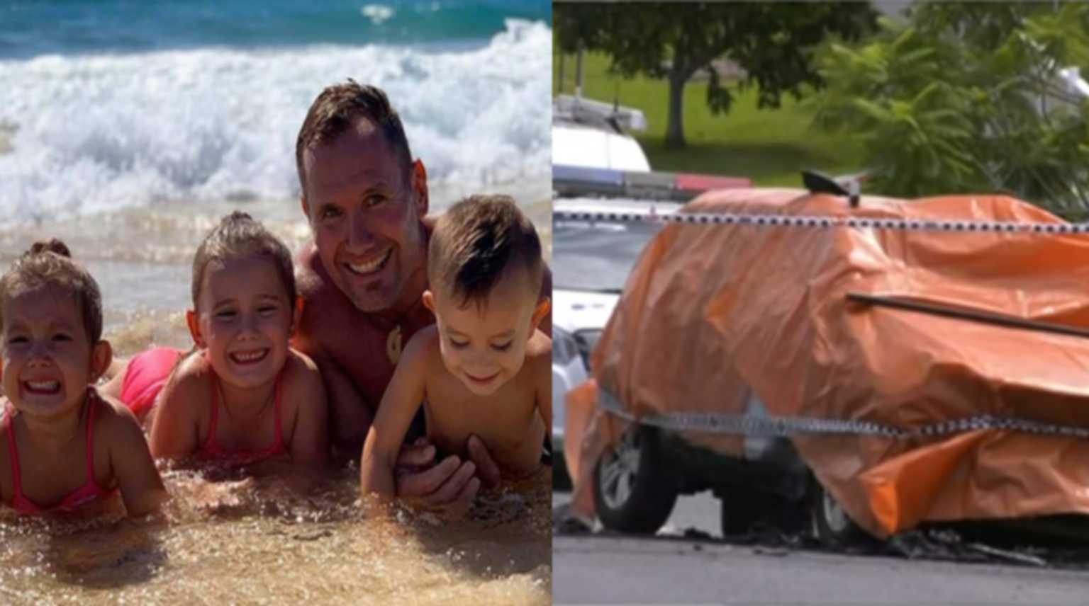 Απίστευτη φρίκη! Διάσημος αθλητής έκαψε ζωντανά τα παιδιά του στην Αυστραλία (vid, pics)
