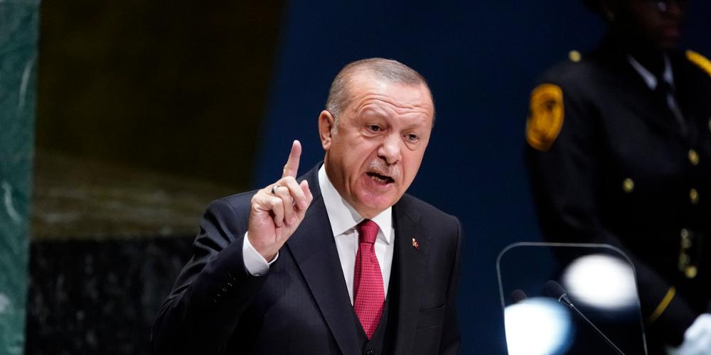 Ερντογάν: Εμείς δεν είμαστε μουσαφίρηδες της γεωγραφίας μας αλλά οι οικοδεσπότες