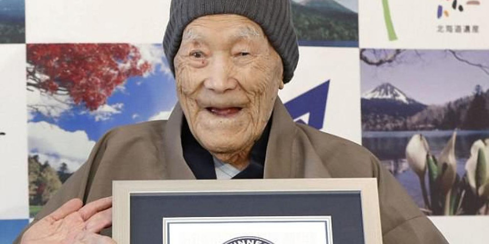 Πέθανε ο γηραιότερος άνδρας στον κόσμο σε ηλικία 112 ετών