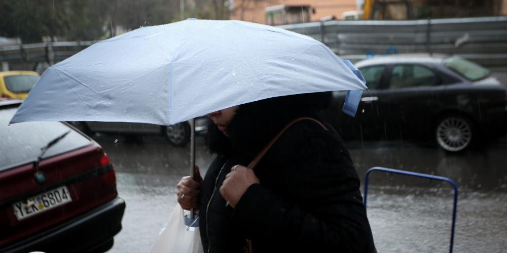 Πρόγνωση καιρού: Άστατα φαινόμενα το Σάββατο με βροχές και καταιγίδες
