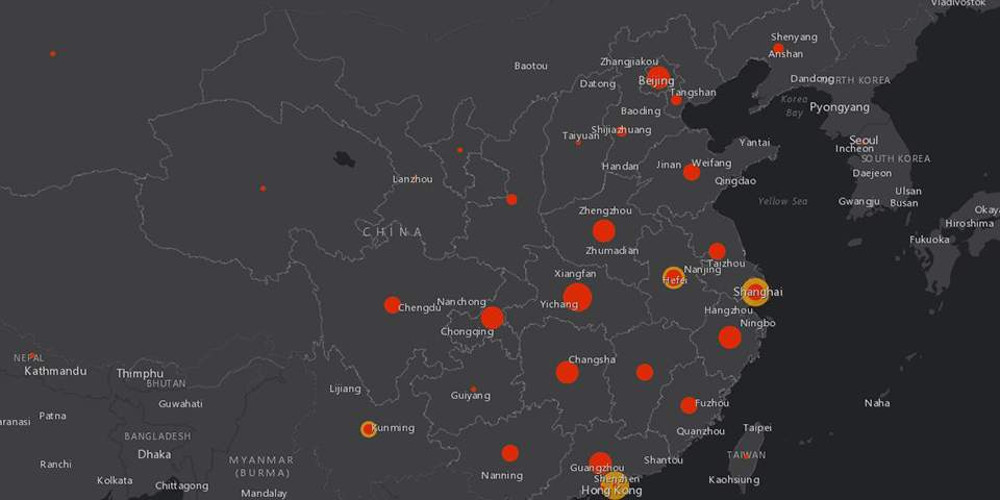 Κορωνοϊός: Πάνω από 2.800 θάνατοι παγκοσμίως [διαδραστικός χάρτης]