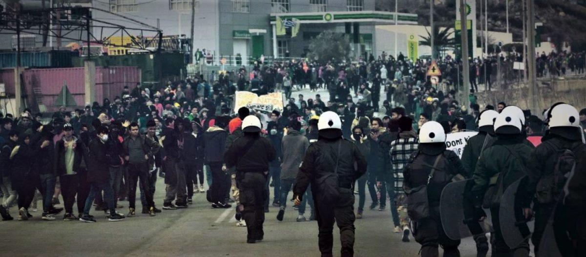 «5η Φάλαγγα»: Επίθεση των παράνομων μεταναστών στην Λέσβο ενώ 10.000 μπαίνουν αύριο από την Τουρκία