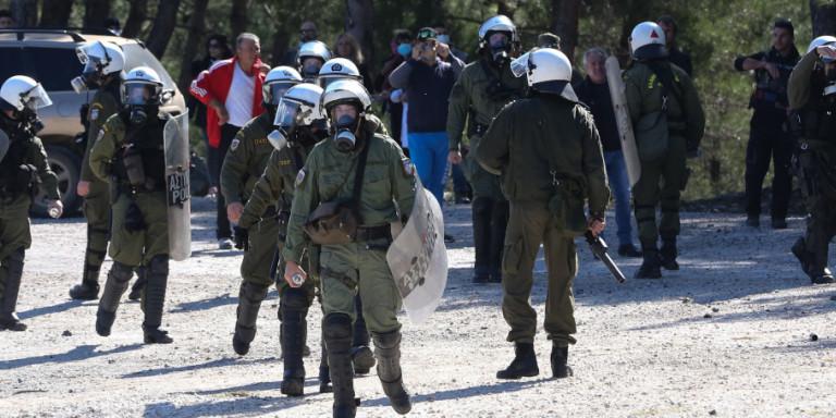 Αποσύρονται σταδιακά από Λέσβο και Χίο οι δυνάμεις των ΜΑΤ που πήγαν για ενίσχυση