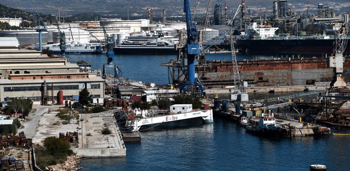 Αραβικό ενδιαφέρον για τα ελληνικά ναυπηγεία – Μοντέλο Σύρου και για την Ελευσίνα