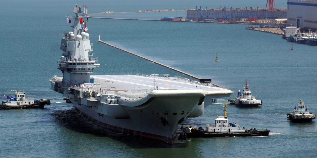 PLAN: Το «απίστευτο» λειτουργικό πρόβλημα του νέου αεροπλανοφόρου της Κίνας [pics]