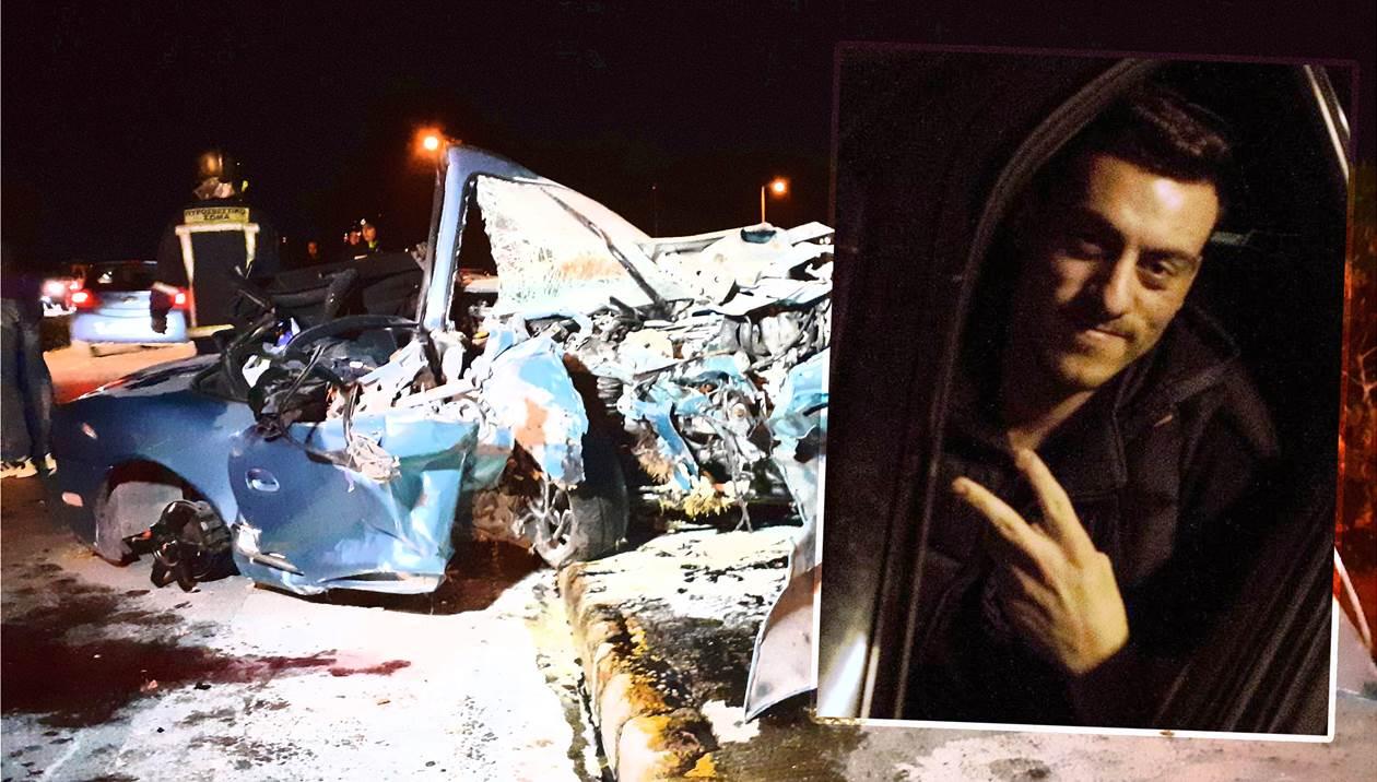 Θανατηφόρο τροχαίο: Βαρύ πένθος για τον 22χρονο Νίκο