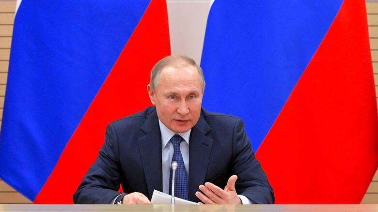 Διάγγελμα Πούτιν για τον κορονοϊό – Ζωντανή εικόνα