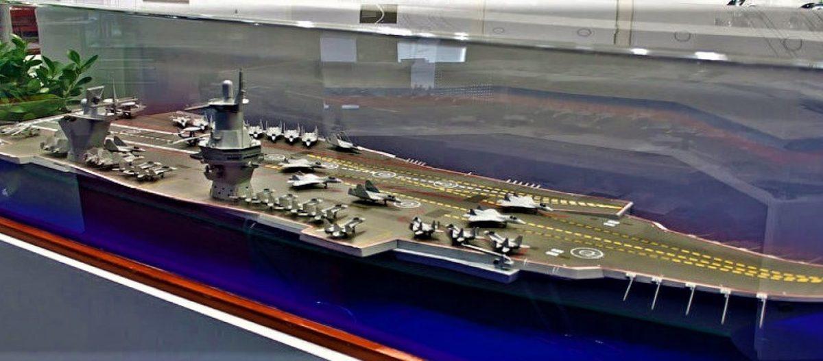Ξεκινά η ναυπήγηση δύο «μικρών» ρωσικών αεροπλανοφόρων και ακολουθεί η ναυπήγηση «mega» αεροπλανοφόρου των 110.000 τ.