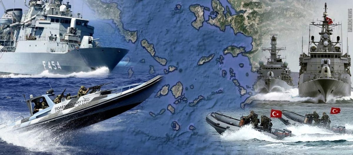 Δημοσκόπηση «δείχνει» κλίμα σύγκρουσης: To 60% των Ελλήνων και το 58% των Τούρκων θέλουν επιστροφή «κλεμμένων εδαφών»