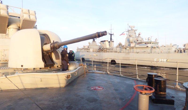 Εντυπωσιακές εικόνες από τις ασκήσεις του Πολεμικού Ναυτικού στο Αιγαίο