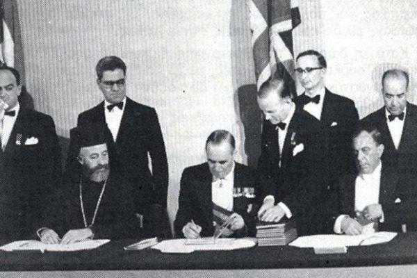 Σαν σήμερα: H συμφωνία για την ίδρυση της Κυπριακής Δημοκρατίας