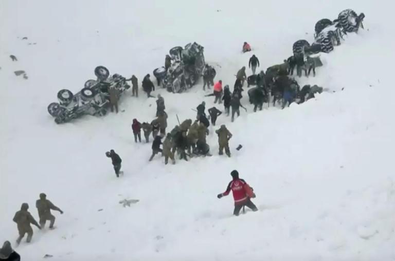 Τουρκία: Τραγωδία με δεκάδες νεκρούς από χιονοστιβάδα!