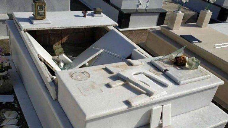 Βανδάλισμός σε νεκροταφείο – Μνήμα βρέθηκε διαλυμένο