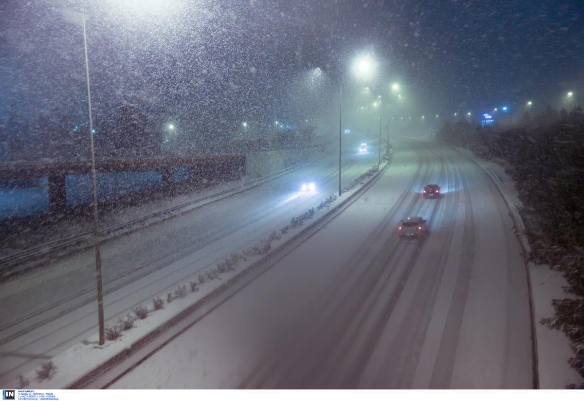 Καιρός: Χιόνια, παγωνιά και βροχές το Σάββατο