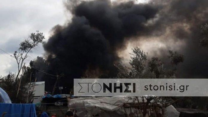 Νεκρό εξάχρονο παιδί στη Μόρια μετά από φωτιά