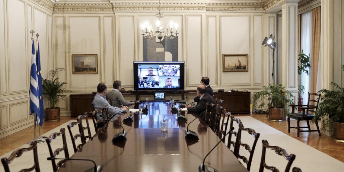 Τηλεδιάσκεψη στο Μαξίμου για τον Έβρο: Η μάχη για τη διαφύλαξη των συνόρων μας συνεχίζεται