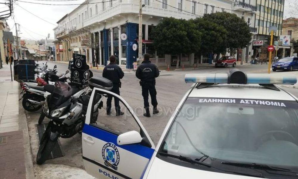 Κρήτη: Βρέθηκε… αρματωμένος σε έλεγχο για τις άσκοπες μετακινήσεις