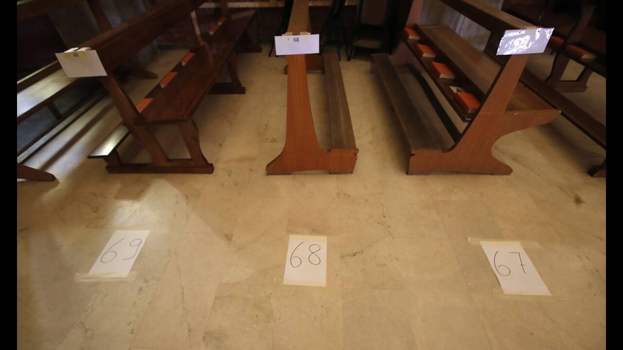 Μακάβριες εικόνες στην Ιταλία: Εκκλησία γεμάτη φέρετρα, ο στρατός μεταφέρει τους νεκρούς